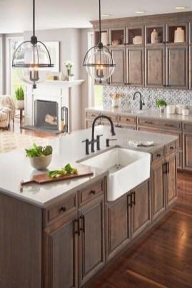 Pretty Farmhouse Kitchen Makeover Design Ideas On A Budget35