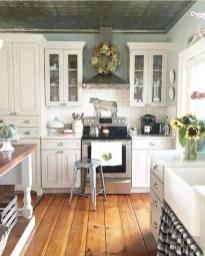 Pretty Farmhouse Kitchen Makeover Design Ideas On A Budget40