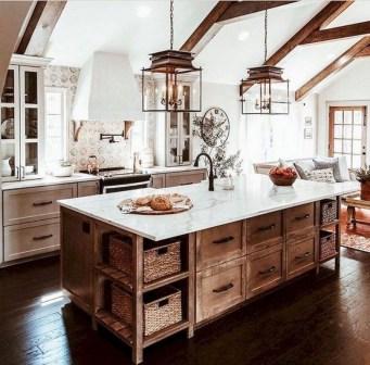 Pretty Farmhouse Kitchen Makeover Design Ideas On A Budget43