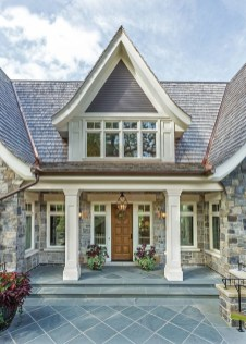 Pretty Stone House Design Ideas On A Budget10