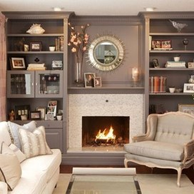Relaxing Living Rooms Design Ideas With Fireplaces10
