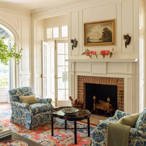 Relaxing Living Rooms Design Ideas With Fireplaces33