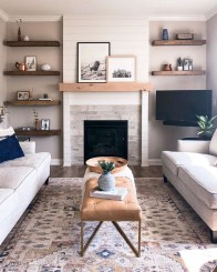 Relaxing Living Rooms Design Ideas With Fireplaces37