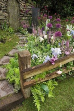 Rustic Front Yard Landscaping Ideas17