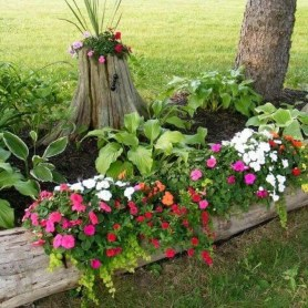 Rustic Front Yard Landscaping Ideas41