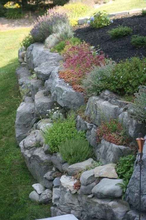 Rustic Front Yard Landscaping Ideas45