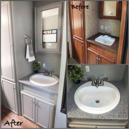 Shabby Chic Trailer Makeover Renovation Ideas05