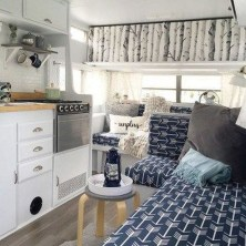 Shabby Chic Trailer Makeover Renovation Ideas12