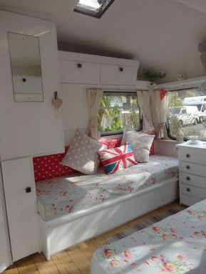 Shabby Chic Trailer Makeover Renovation Ideas14