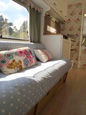 Shabby Chic Trailer Makeover Renovation Ideas15