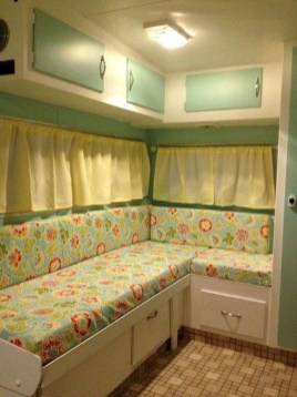Shabby Chic Trailer Makeover Renovation Ideas17