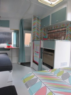 Shabby Chic Trailer Makeover Renovation Ideas23