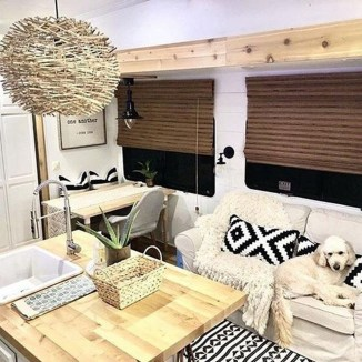 Shabby Chic Trailer Makeover Renovation Ideas24