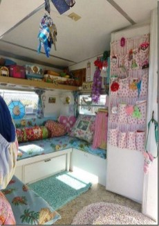 Shabby Chic Trailer Makeover Renovation Ideas25