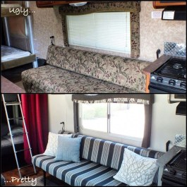 Shabby Chic Trailer Makeover Renovation Ideas39