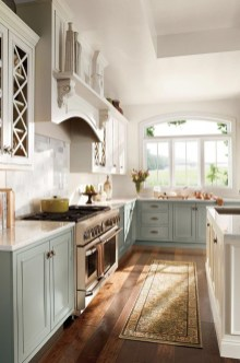 Stylish Farmhouse Kitchen Cabinet Design Ideas02