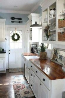 Stylish Farmhouse Kitchen Cabinet Design Ideas04