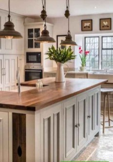 Stylish Farmhouse Kitchen Cabinet Design Ideas05