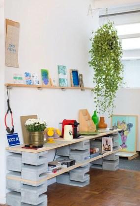 Unique Diy Cinder Block Furniture Decor Ideas08