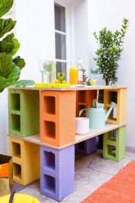 Unique Diy Cinder Block Furniture Decor Ideas11