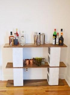 Unique Diy Cinder Block Furniture Decor Ideas14