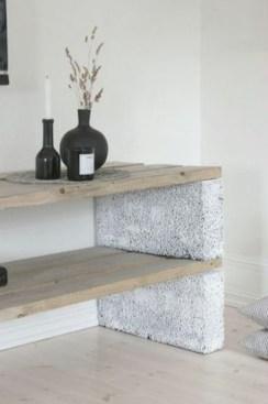 Unique Diy Cinder Block Furniture Decor Ideas15