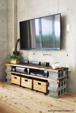 Unique Diy Cinder Block Furniture Decor Ideas16