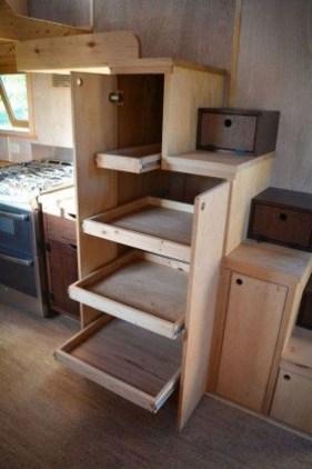 Astonishing Tiny House Design Ideas With Fabulous Storage17