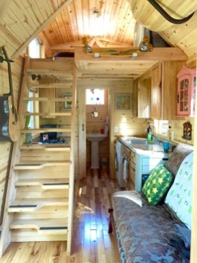 Astonishing Tiny House Design Ideas With Fabulous Storage24