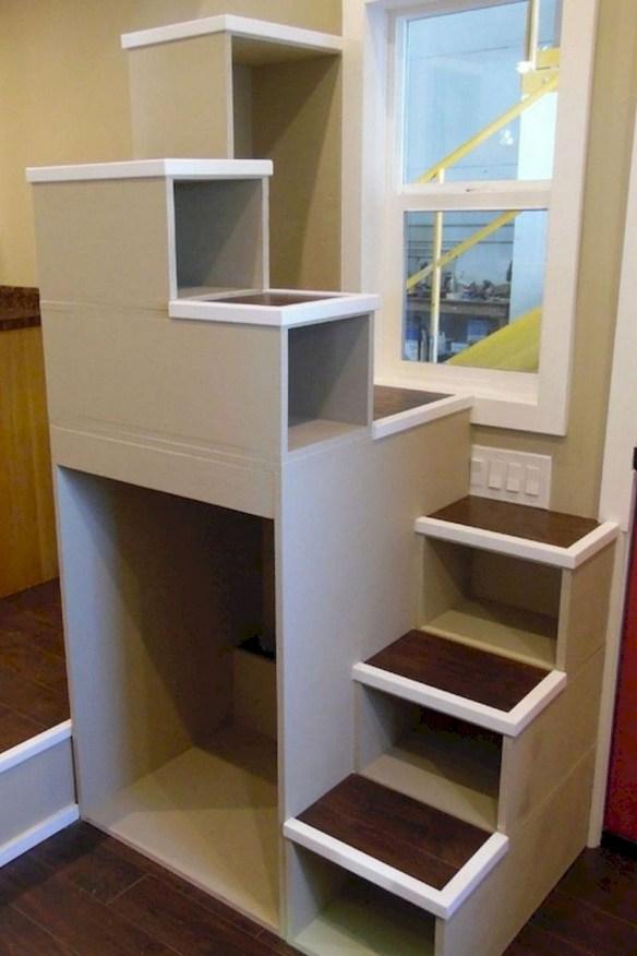 Astonishing Tiny House Design Ideas With Fabulous Storage42