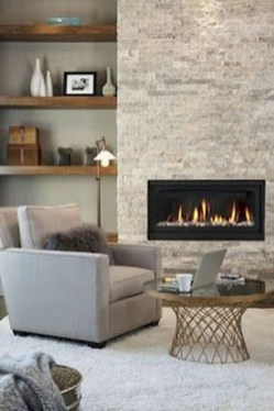 Cool Living Room Design Ideas With Fireplace To Keep You Warm This Winter34