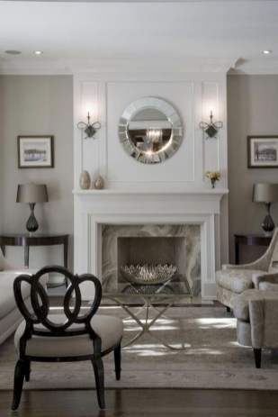 Cool Living Room Design Ideas With Fireplace To Keep You Warm This Winter38