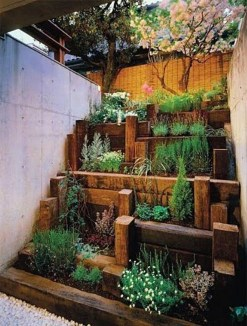 Fantastic Outdoor Vertical Garden Ideas For Small Space43