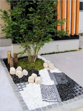 Fascinating Side Yard And Backyard Gravel Garden Design Ideas That Looks Cool25
