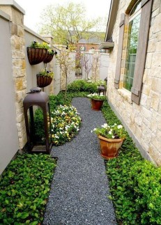 Fascinating Side Yard And Backyard Gravel Garden Design Ideas That Looks Cool32