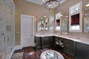 Functionally Decorated Contemporary Powder Rooms05