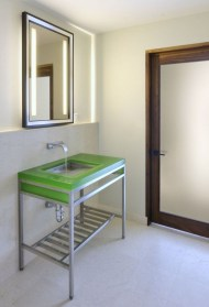 Functionally Decorated Contemporary Powder Rooms23