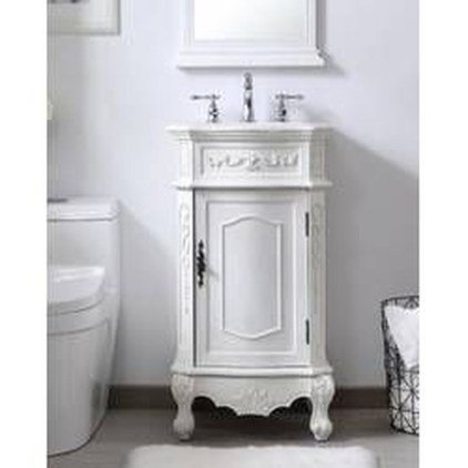 Functionally Decorated Contemporary Powder Rooms28