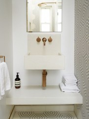 Functionally Decorated Contemporary Powder Rooms38