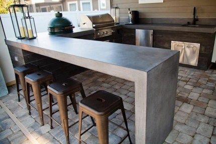 Inexpensive Renovation Tips Ideas For Outdoor Kitchen05