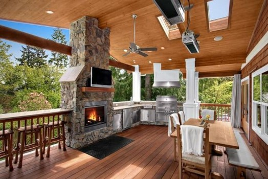 Inexpensive Renovation Tips Ideas For Outdoor Kitchen09