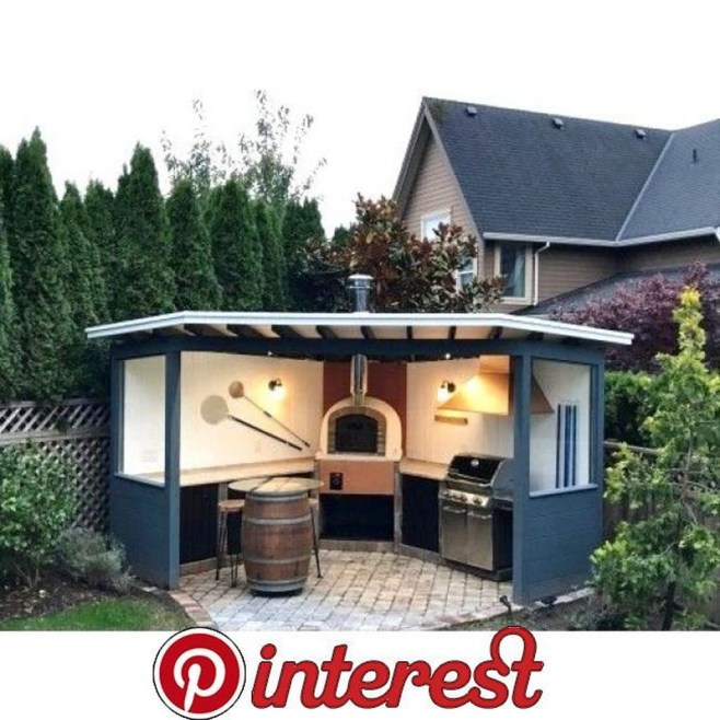 Inexpensive Renovation Tips Ideas For Outdoor Kitchen13
