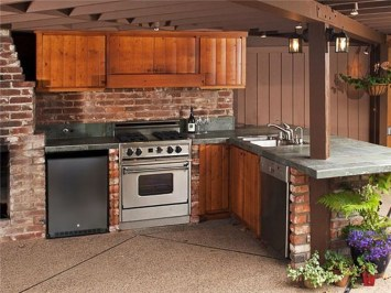 Inexpensive Renovation Tips Ideas For Outdoor Kitchen18