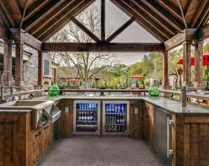 Inexpensive Renovation Tips Ideas For Outdoor Kitchen33