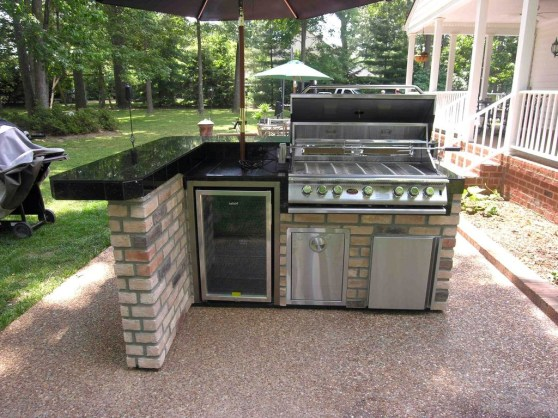 Inexpensive Renovation Tips Ideas For Outdoor Kitchen34