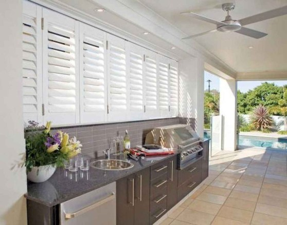 Inexpensive Renovation Tips Ideas For Outdoor Kitchen35