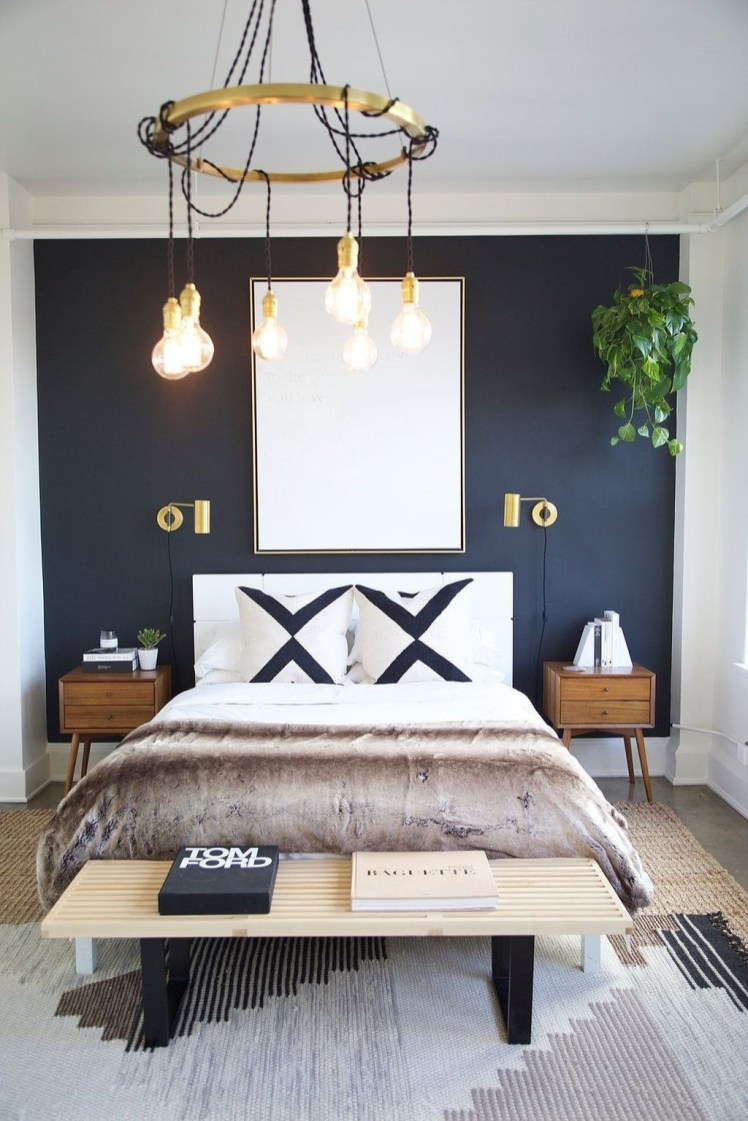 Latest Wall Bedroom Design Ideas That Unique08