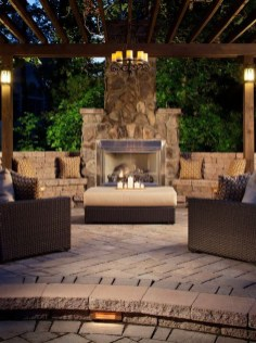 Outstanding Patio Yard Furniture Ideas For Fall To Try41