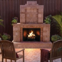 Relaxing Outdoor Fireplace Designs For Your Garden42