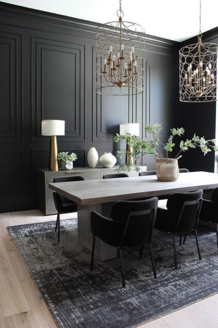Simple But Elegant Dining Room Ideas24
